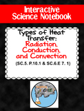 """Interactive Noteboook """"Types of Heat Transfer"""" Foldable"""