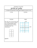 Interactive Notes: Linear Equations in the form y=mx or y=kx TEKS 8.4A