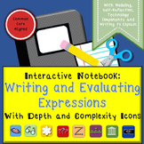 Expressions Interactive Notebook