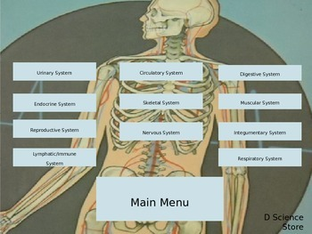Interactive Notes for Human Body Notebook