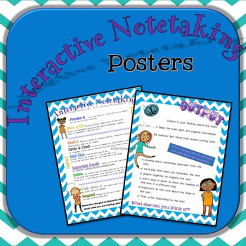 Interactive Notetaking Posters