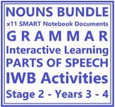 Interactive Nouns BUNDLE - 11 Activities for IWB