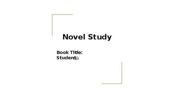Interactive Novel Study