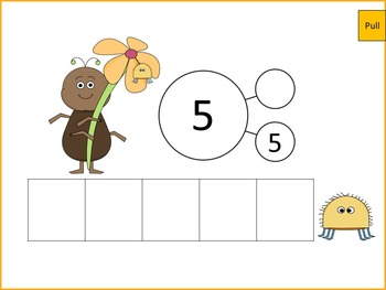 Interactive Number Bonds Sums Up to 5  Erase And Reveal For Smart Board FREEBIE