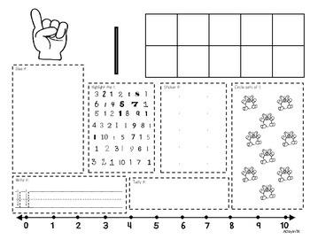 Interactive Number Book