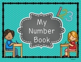 Interactive Number Book Freebie