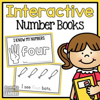 Number Mini Books 1-10