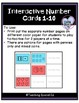 Interactive Number Cards 1-10