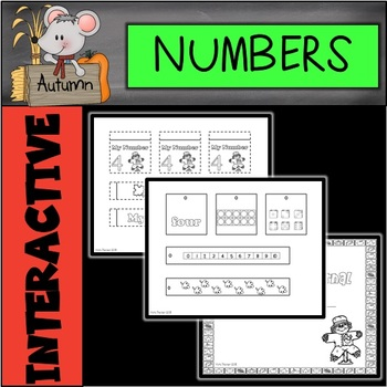 Fall Interactive Number Journal