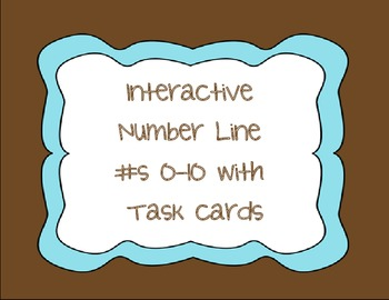 Interactive Number Line 0-10