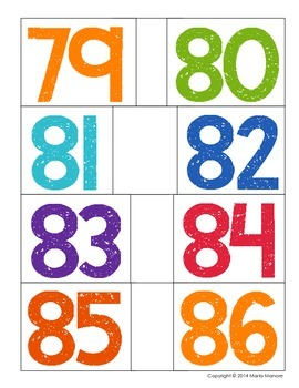 Interactive Number Line (Numbers 0 to 120)
