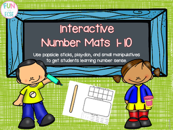 Interactive Number Mats