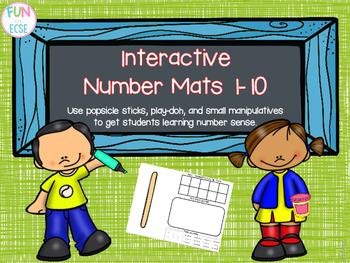 Interactive Number Mats