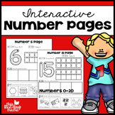 Interactive Number Pages