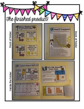 Interactive Number Sense/Back to School Math Folder: Third Grade