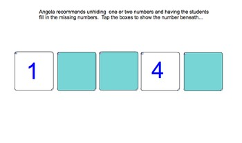 Interactive Number Tracks to Help Kids Identify Preceding and Succeeding Numbers