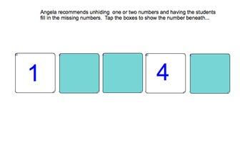 Interactive Number Tracks to Help Kids Identify Preceding