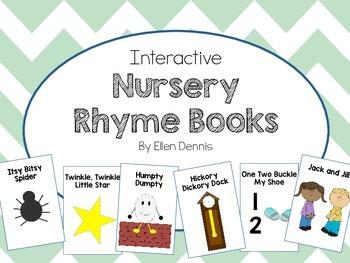 Interactive Nursery Rhyme Books