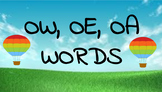 Google Classroom- Interactive OW, OE, OA Word Work Activities
