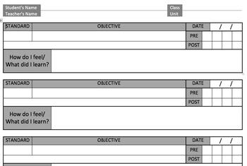 Interactive Objective Sheet (Version 1)