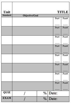 Interactive Objective Sheet (Version 2)