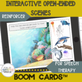Interactive Open-Ended Scenes for Speech Therapy