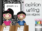 Interactive Opinion Writing PowerPoint and Assessment