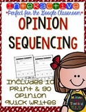 Interactive Opinion Writing Sequencing