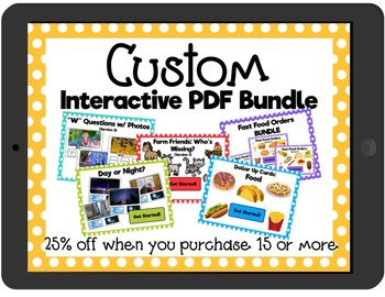 Interactive PDF Custom Bundle