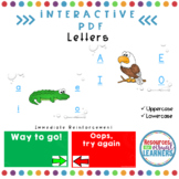 Interactive PDF-Uppercase and Lowecase Letters