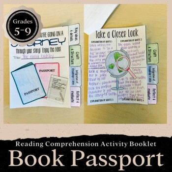 Interactive Passport Activity for Any Novel: CCSS Aligned-- Grades 5-7