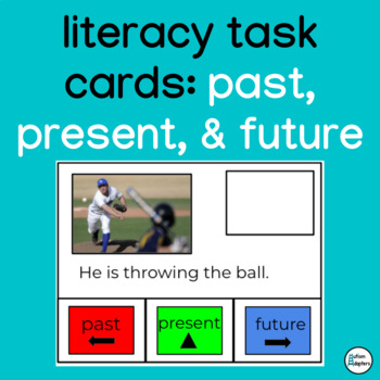 Interactive Past, Present, and Future Tense Activity Cards