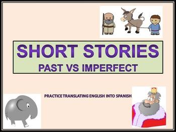 Spanish Preterite Imperfect Conjugation Practice