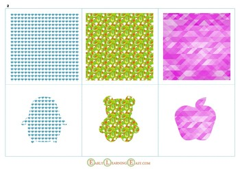 Interactive Patterns Matching for Toddlers 1-3 years old