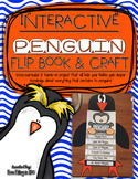 Interactive Penguin Flip book & Craft