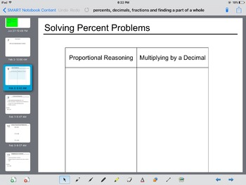 Interactive: Percents, Fractions and Decimals & Finding the Part of a Whole