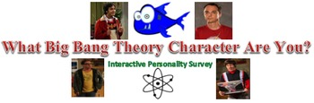 Which Big Bang Theory Character Are You? Interactive Personality Survey