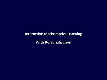 Interactive Personalized Mathematics Problems