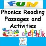 Kindergarten Phonics Reading Passages and Activities