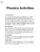 Interactive Phonics Activities for the YEAR