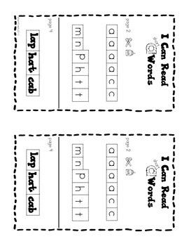 Interactive Phonics Booklet - Short A