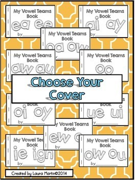 Interactive Phonics Booklet-Vowel Teams and More