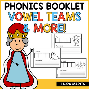 Vowel Teams-Interactive Phonics Booklet