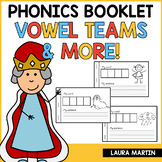 Vowel Teams Booklet | Distance Learning