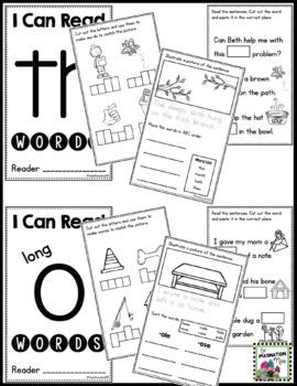 Interactive Phonics Booklets