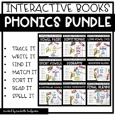 Interactive Phonics Books BUNDLE | Phonics Activities