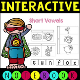 Interactive Phonics CVC Notebook