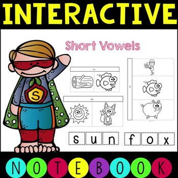 Interactive Phonics CVC Notebook