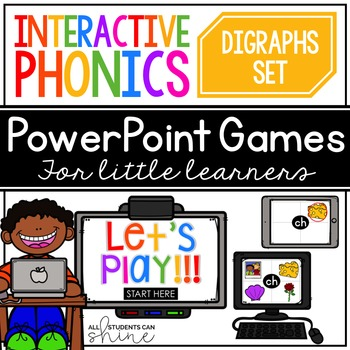 Interactive Phonics ~ Digraphs