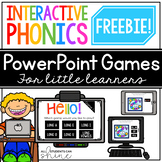 Interactive Phonics FREEBIE {digital resource for distance